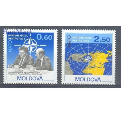 Znaczek Mołdawia 1994 Mi 128-129 Czyste **