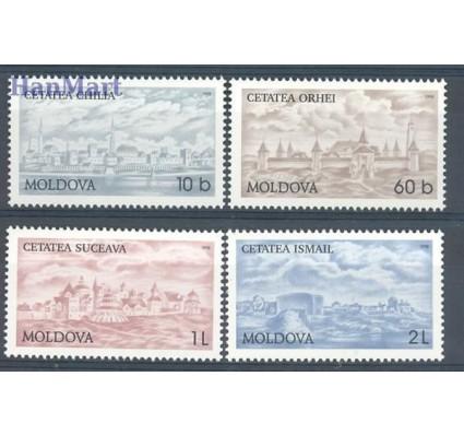 Znaczek Mołdawia 1998 Mi 287-290 Czyste **