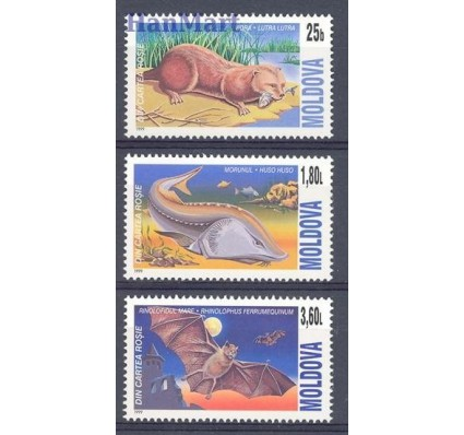 Znaczek Mołdawia 1999 Mi 337-339 Czyste **
