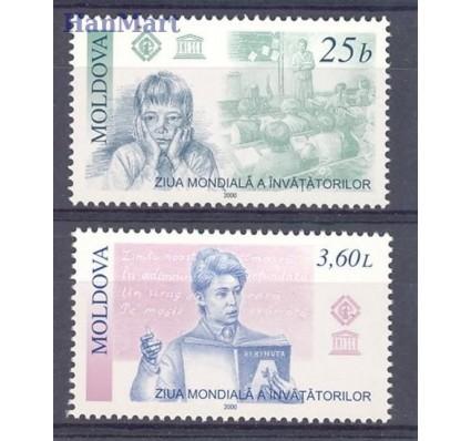 Znaczek Mołdawia 2000 Mi 373-374 Czyste **
