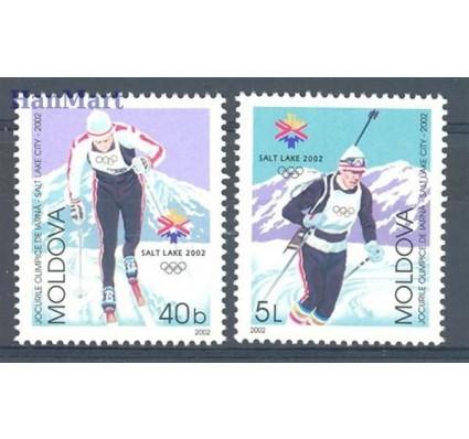 Mołdawia 2002 Mi 421-422 Czyste **