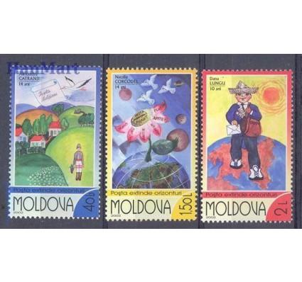 Znaczek Mołdawia 2002 Mi 446-448 Czyste **