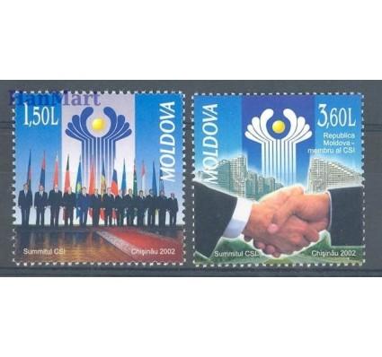 Mołdawia 2002 Mi 449-450 Czyste **