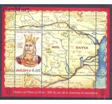 Mołdawia 2004 Mi bl 31 Czyste **