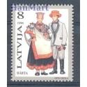 Łotwa 1996 Mi 424 Czyste **