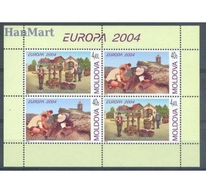 Mołdawia 2004 Mi h-blatt 5 Czyste **