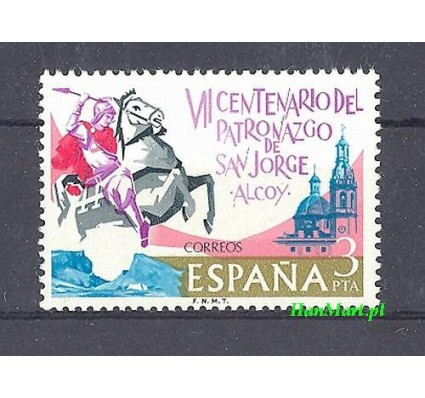Znaczek Hiszpania 1976 Mi 2208 Czyste **