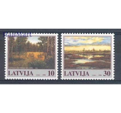 Znaczek Łotwa 1998 Mi 477-478 Czyste **