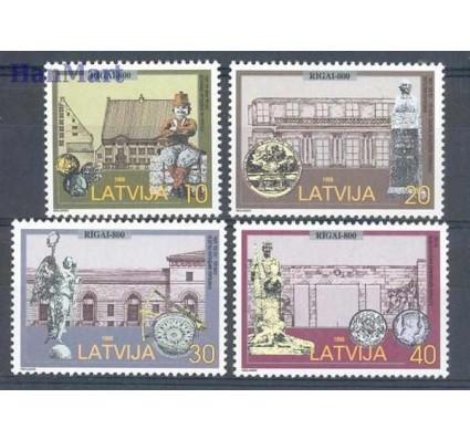 Znaczek Łotwa 1998 Mi 481-484 Czyste **