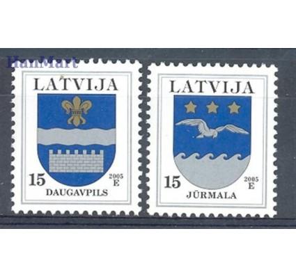 Łotwa 2000 Mi 521-522 Czyste **
