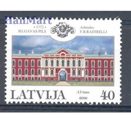 Znaczek Łotwa 2000 Mi 527C Czyste **