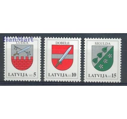 Znaczek Łotwa 2002 Mi 562-564 Czyste **