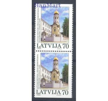 Znaczek Łotwa 2002 Mi 578DoDu Czyste **