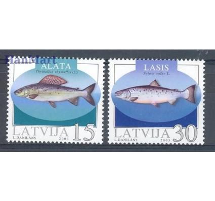 Znaczek Łotwa 2003 Mi 594-595 Czyste **