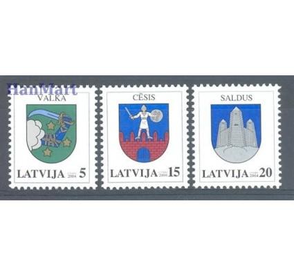 Znaczek Łotwa 2004 Mi 604-606 Czyste **