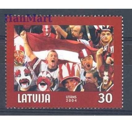 Łotwa 2004 Mi 610 Czyste **