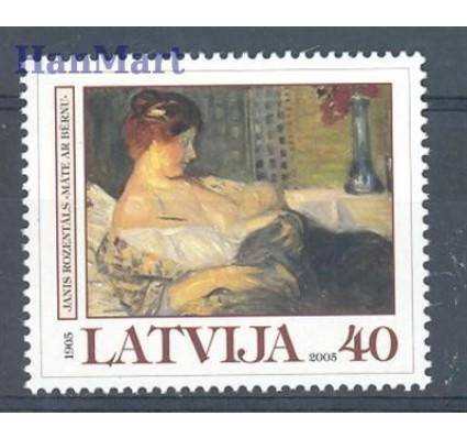 Znaczek Łotwa 2005 Mi 636 Czyste **