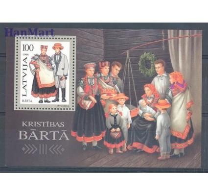 Znaczek Łotwa 1996 Mi bl 7 Czyste **