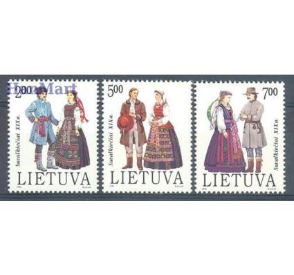 Znaczek Litwa 1992 Mi 508-510 Czyste **