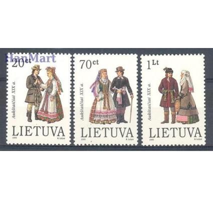 Litwa 1995 Mi 581-583 Czyste **