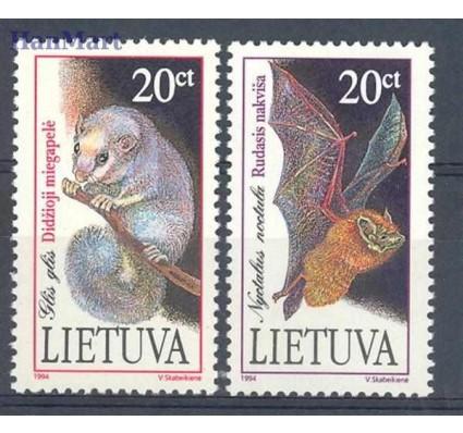 Znaczek Litwa 1994 Mi 566-567 Czyste **