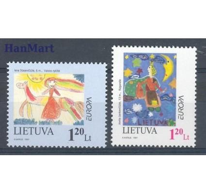 Litwa 1997 Mi 636-637 Czyste **