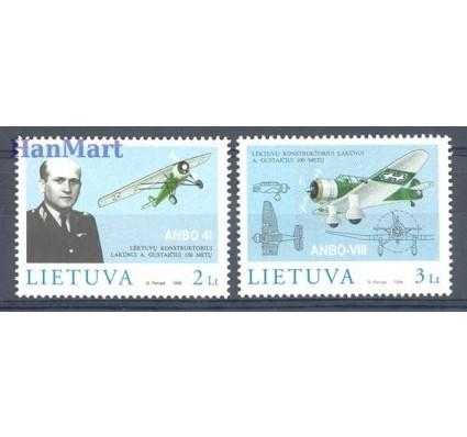 Litwa 1998 Mi 662-663 Czyste **