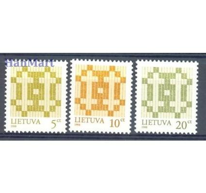 Litwa 1998 Mi 682-684 Czyste **