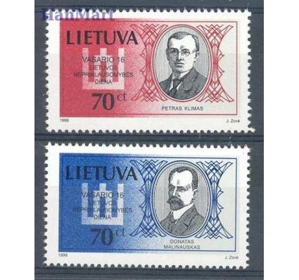 Znaczek Litwa 1999 Mi 687-688 Czyste **
