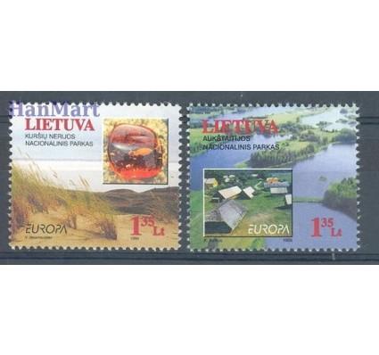Znaczek Litwa 1999 Mi 693-694 Czyste **
