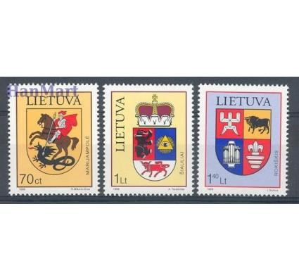 Znaczek Litwa 1999 Mi 709-711 Czyste **