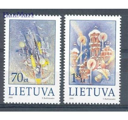 Znaczek Litwa 1999 Mi 715-716 Czyste **