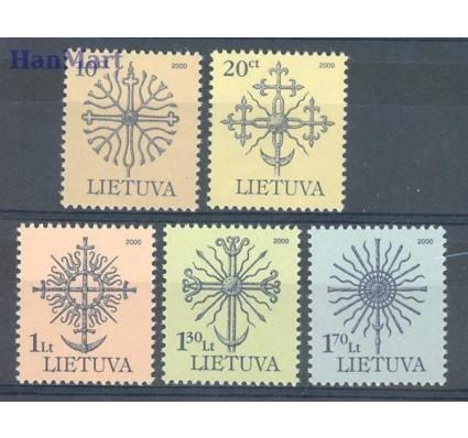 Litwa 2000 Mi 717-721 Czyste **