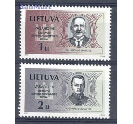 Litwa 2001 Mi 751-752 Czyste **