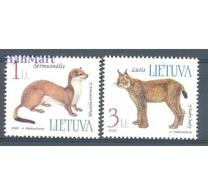 Litwa 2002 Mi 790-791 Czyste **