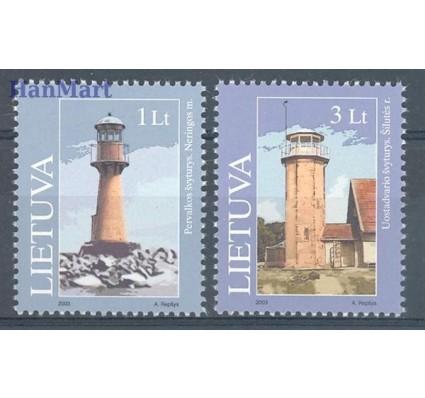 Litwa 2003 Mi 814-815 Czyste **