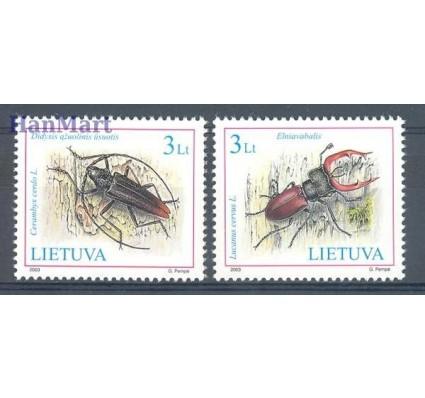 Litwa 2003 Mi 819-820 Czyste **