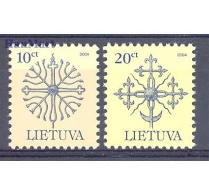 Znaczek Litwa 2005 Mi 889-890I Czyste **