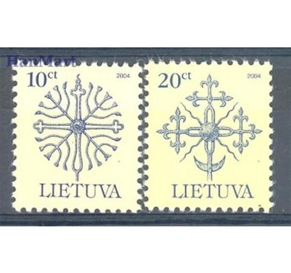 Znaczek Litwa 2005 Mi 889-890II Czyste **