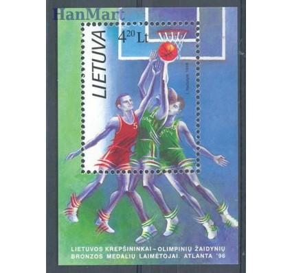 Znaczek Litwa 1996 Mi bl 8 Czyste **