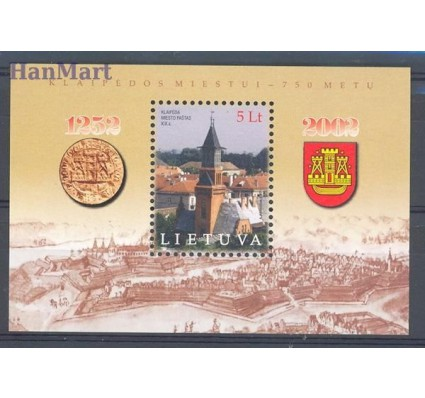 Litwa 2002 Mi bl 26 Czyste **