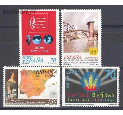 Hiszpania 1999 Mi 3484-3487 Czyste **