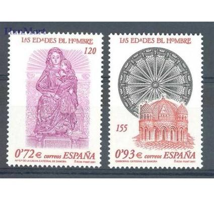 Znaczek Hiszpania 2001 Mi 3645-3646 Czyste **