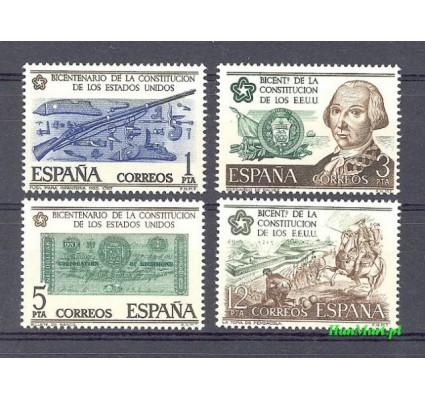 Hiszpania 1976 Mi 2215-2218 Czyste **