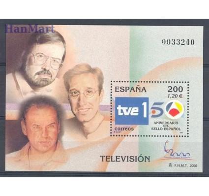 Hiszpania 2000 Mi bl 94 Czyste **