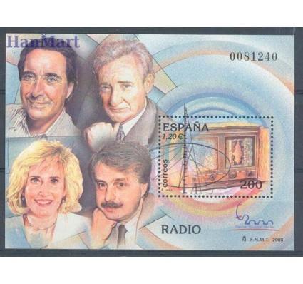 Hiszpania 2000 Mi bl 95 Czyste **