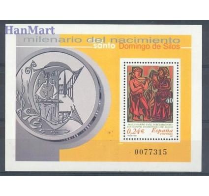 Hiszpania 2001 Mi bl 99 Czyste **