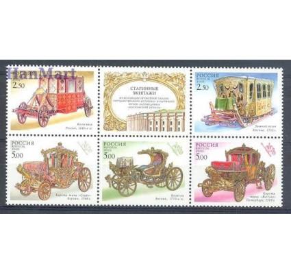 Rosja 2002 Mi 994-998 Czyste **