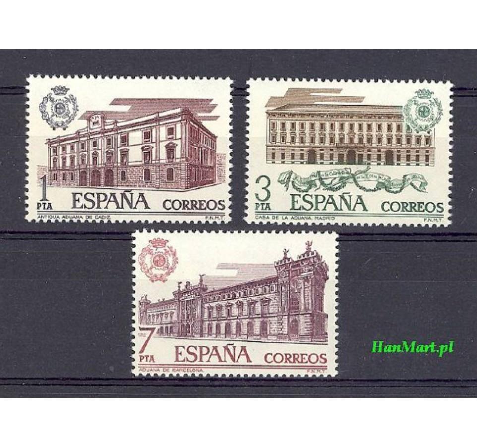 Hiszpania 1976 Mi 2219-2221 Czyste **