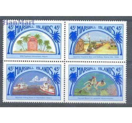 Znaczek Wyspy Marshalla 1989 Mi 204-207 Czyste **